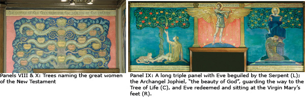The Jennings Room Murals: Panels 8-10