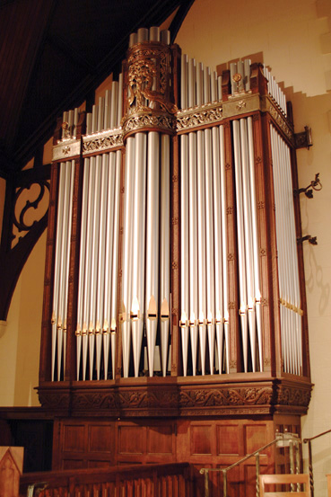 McLean Organ Chancel Case