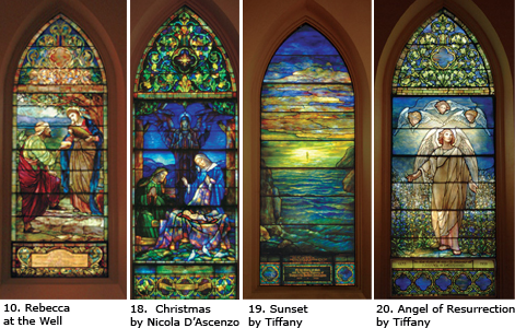 The Stained Glass Windows of First Church