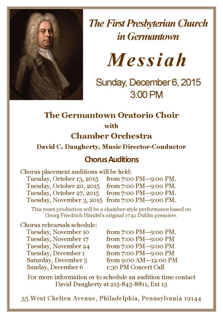 Messiah 2015 Concert