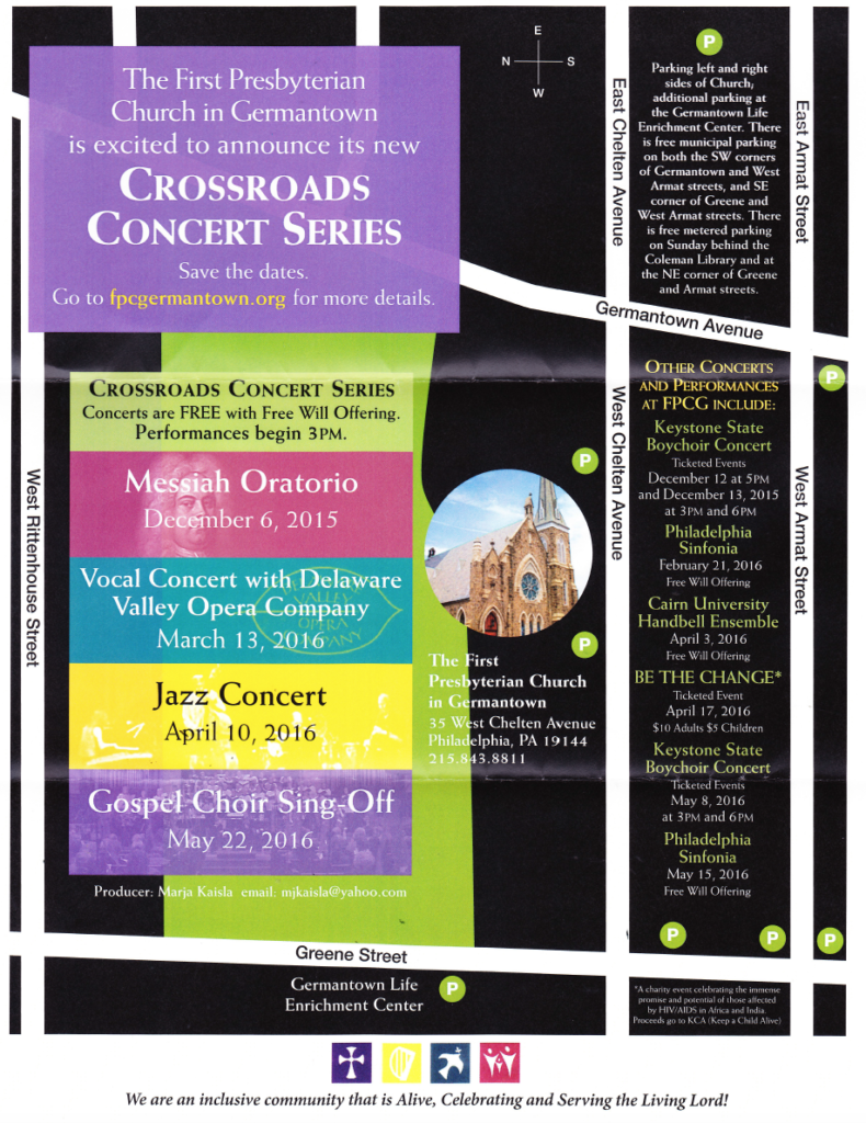 2016 Crossroads Concert Series