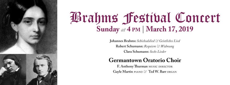 Brahms Festival Concert
