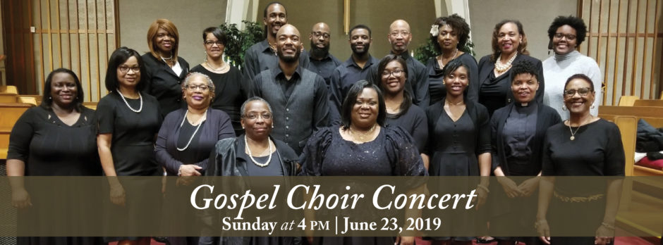 Gospel Choir Concert 2019