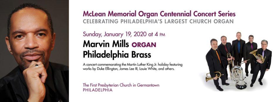Marvin Mills & Philadelphia Brass Concert 2020